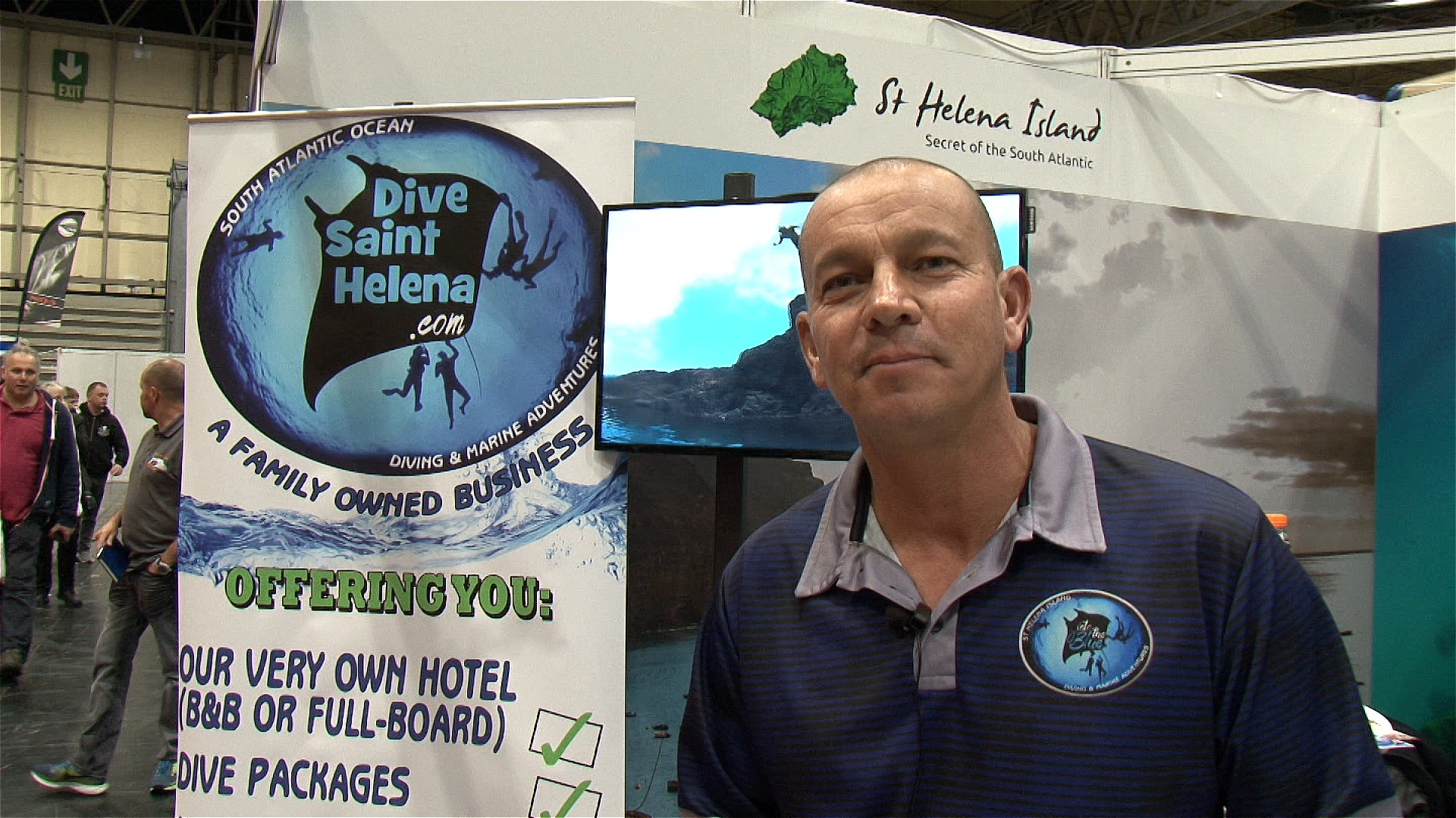 DIVE 2018 Review: Craig Yon talks about the diving off the Island of Saint Helena (Watch Video)