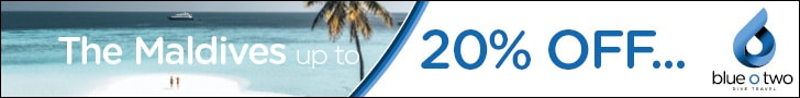 blue o two Maldives leaderboard