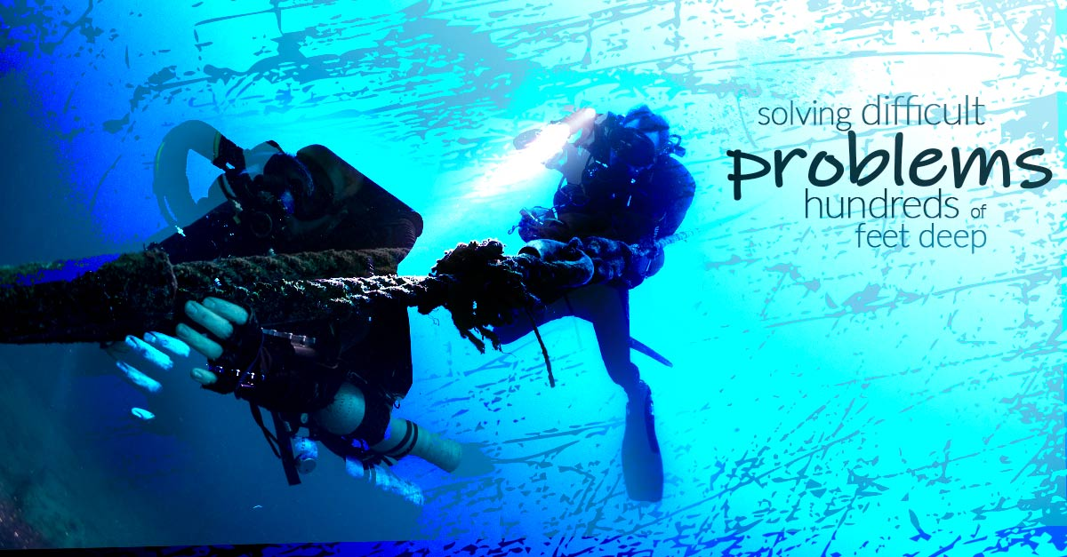Solving difficult problems far below the surface