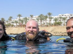 Diving with a disability in Sharm el Sheikh
