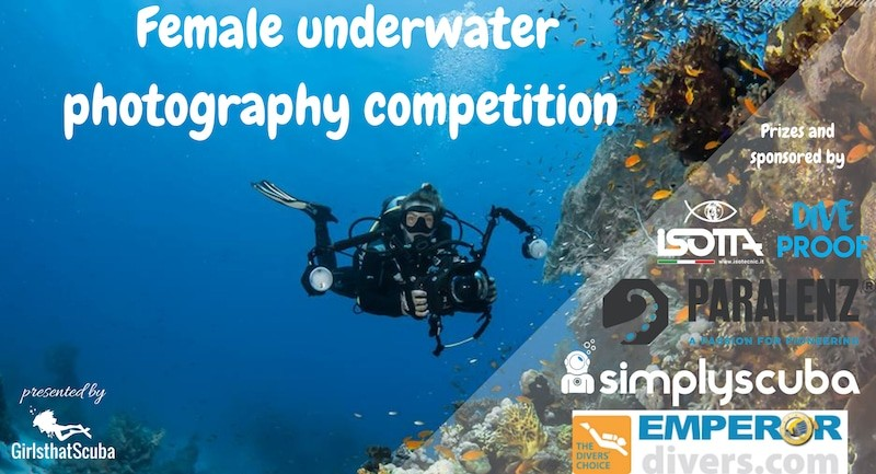 Girls that scuba launch female only underwater photography competition photo contestg publicscrutiny Image collections
